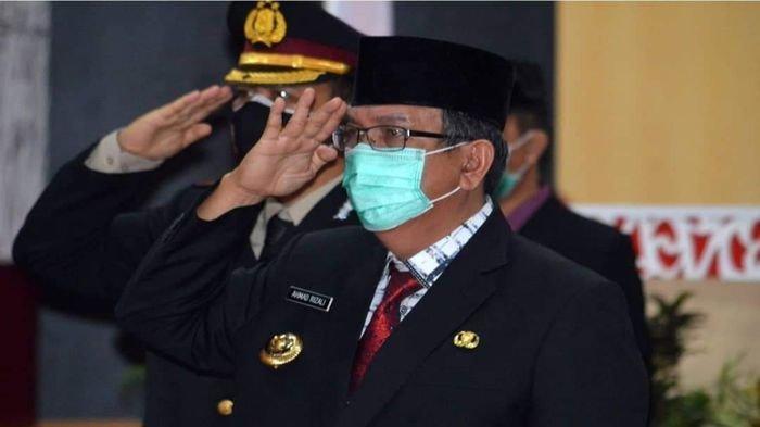 Pjs Bupati Musirawas Ikut Upacara Peringatan Hari Kesaktian Pancasila Tahun 2020 Via Vidcon