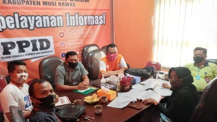 KPU Musi Rawas Terima Kordinasi LO Bapaslon Ratna Mahmud dan Suwarti Terkait Teknis Pendaftaran