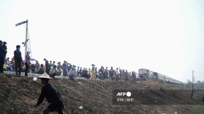 SITUASI MYANMAR Mencekam, BANDIT-Bandit di Penjara Dilepas Bikin Teror: Warga Ronda Malam