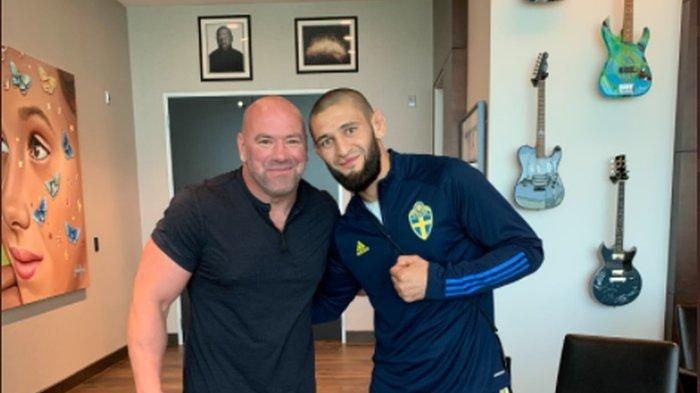 Menang KO, Khamzat Chimaev Ingin Disejajarkan dengan Mike Tyson
