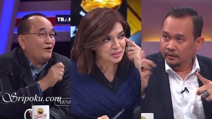 Begini Respon Ruhut Saat Ditagih Najwa Shihab Janji Potong Kuping, Cak Lontong Malah Ketawa