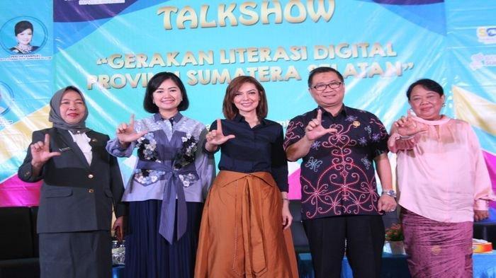 Najwa Shihab dan Percha Leanpuri Galakkan Literasi ke Millenial di Kota Palembang