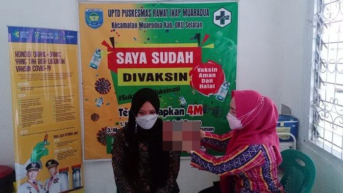 77 Tenaga Kesehatan di Puskesmas Muaradua OKU Selatan Tak Bisa Disuntik Vaksin Covid-19 Merk Moderna
