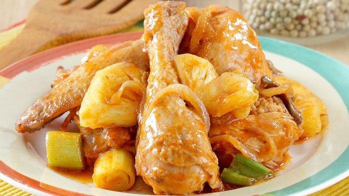 Ayam Masak Nanas, Menu Makan Siang Bernuansa Hawaii, Layak Dicoba, Gampang Bikinnya