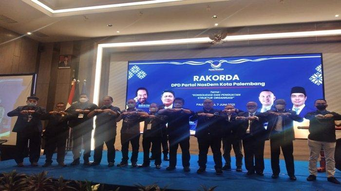 Putra Mantan Sekda Mukti Sulaiman Digadang Maju ke Pilwako Palembang 2024, Ketua Nasdem Palembang
