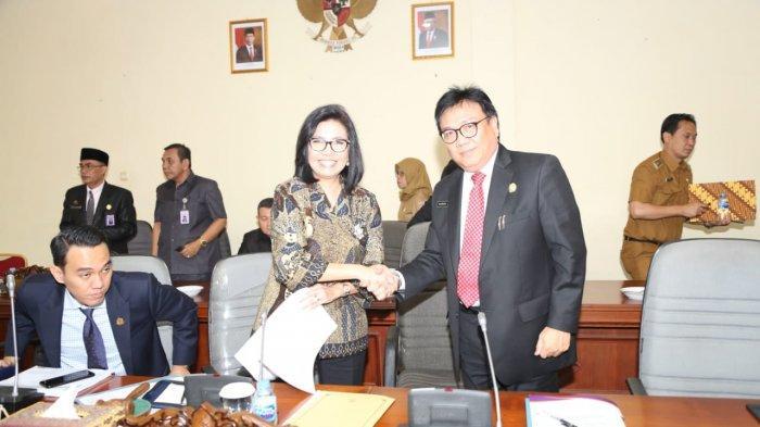 Sekda Nasrun Umar Hadiri Rapat Penetapan Pembentukan Perda di DPRD Sumsel, Ini Daftar Raperda 2020