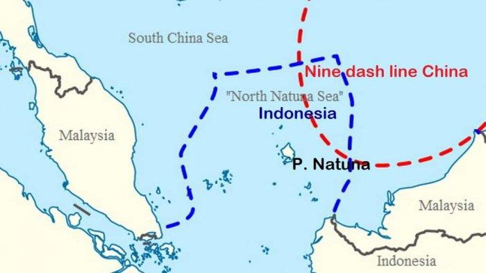 Gawat, China Bangun Pangkalan Militer Besar-besaran di Laut Natuna Utara