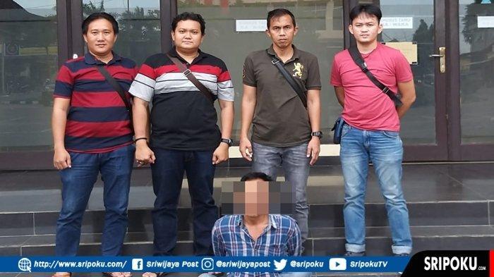 Pria di Palembang Ini Sudah 8 Kali Curi Susu, Aksinya Terekam CCTV, Ternyata Residivis Kasus Curas