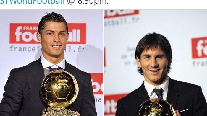 Jadi Pengangguran, Lionel Messi Masuk Daftar Calon Kuat Raih Ballon d'Or Setelah Ronaldo Menghilang