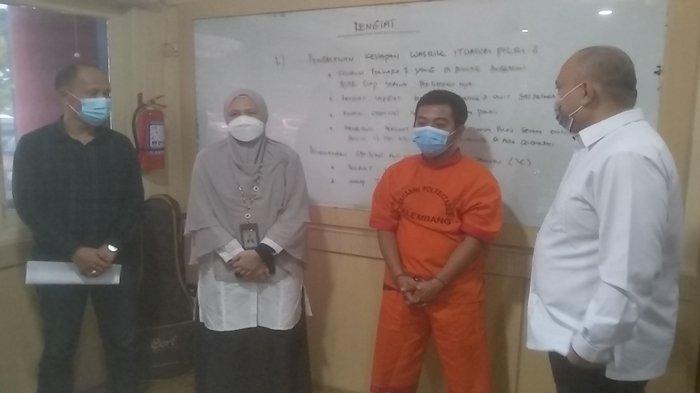 Saat Ditangkap Penipu Jual beli Masker Ini Mengaku Honorer BPK Jakarta, BPK Sumsel Turun Tangan