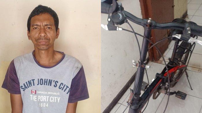 Demi Turuti Kemauan Istri yang Lagi Ngidam Sepeda, Rian Nekat Mencuri, Ternyata Korbannya Polisi