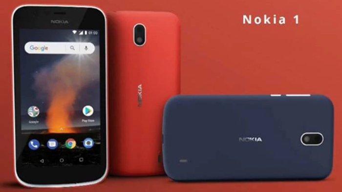 Miliki Ruang Penyimpanan yang Lebih Besar, Nokia 1 Dibandrol Dibawah Rp 1 Juta, Ini Andalannya
