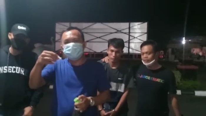 Nongkrong di Pinggir Rel Kereta Api, Warga Prabumulih Ini Diciduk Petugas: Lebaran di Penjara