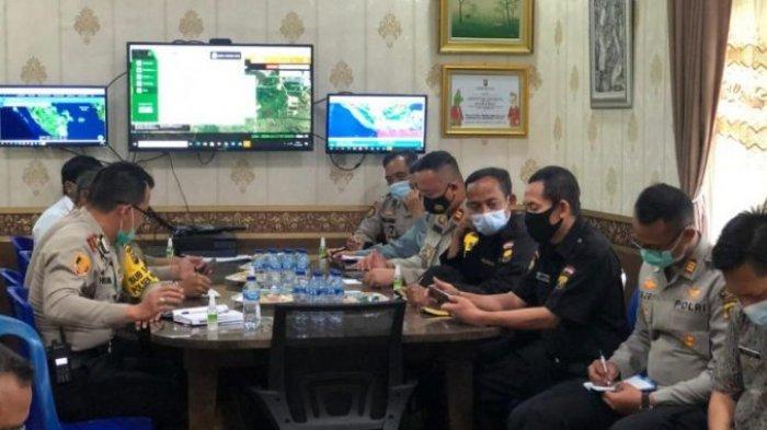 Menghadapi Operasi Lilin Musi 2020, Kapolres Ogan Ilir Gelar Rapat Lintas Sektoral