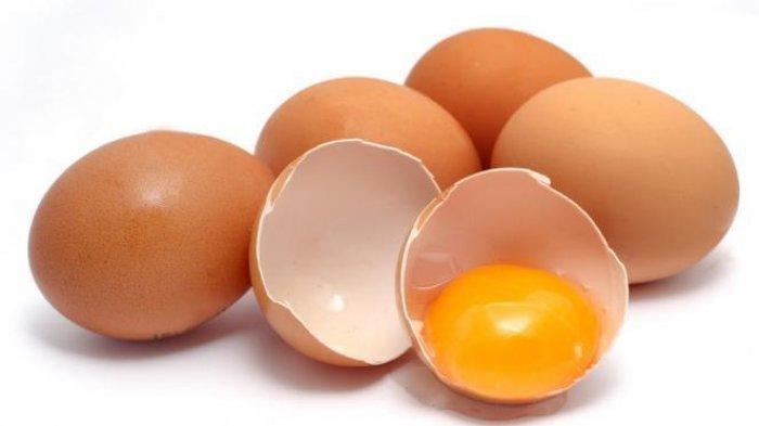 Ilustrasi telur ayam.