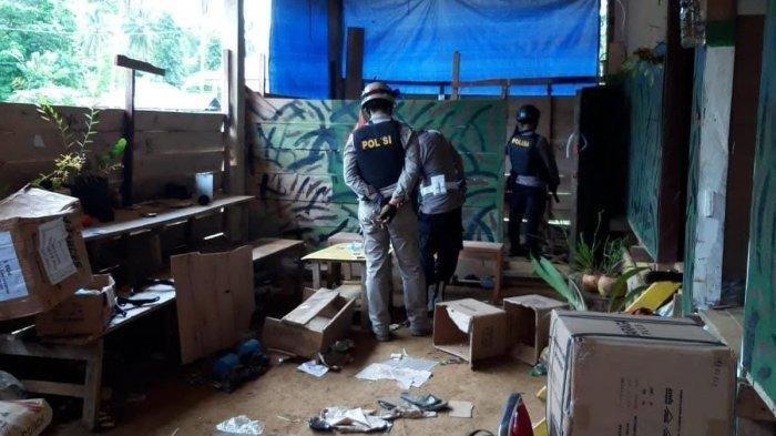 2 JAM Sebelum Diserang, Pos Koramil Kisor Sudah Diintai: Pasukan TNI-Polri Obrak-abrik Markas KNPB