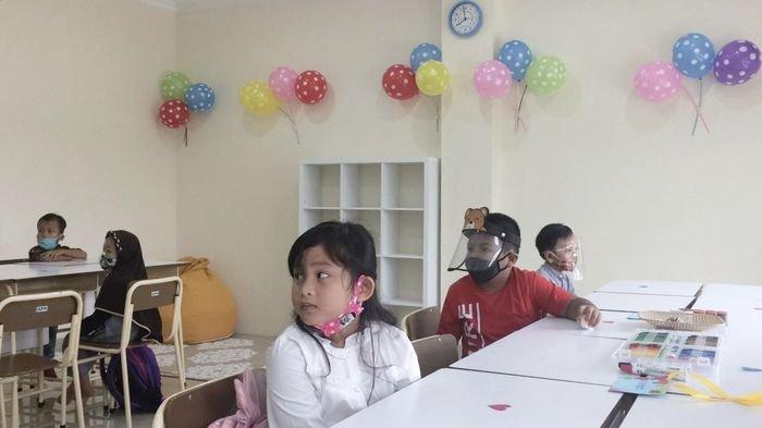 SD Bukit Asam Tanjungenim Gelar Opening Class Bagi Murid Baru, tetap Pakai Protokol Kesehatan