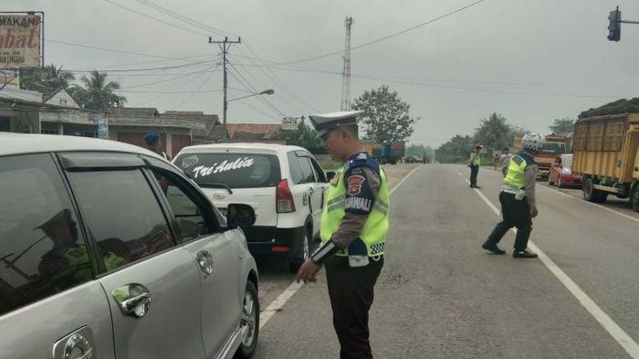 Memasuki Hari Kesembilan, Operasi Zebra Polres Musirawas Keluarkan 345 Lebar Kertas Tilang