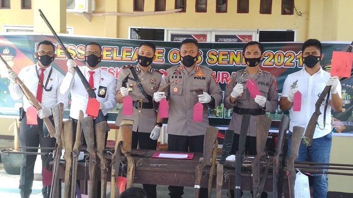 Pabrik Senjata Api Ilegal Terindikasi Ada di Muratara, Polisi Kesulitan: Butuh Kerja Sama Masyarakat
