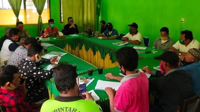 Program Padat Karya Rehab Irigasi Swakelola di Musirawas, Bantu Ekonomi Warga Terdampak Covid-19
