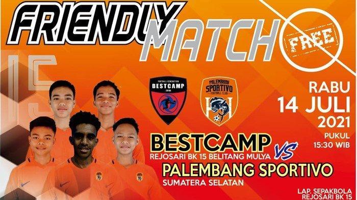 Tim Suratin U-15 Palembang Sportivo FC Akan Gelar Friendly Match, Hadapi Bestcamp Rejosari BK 15