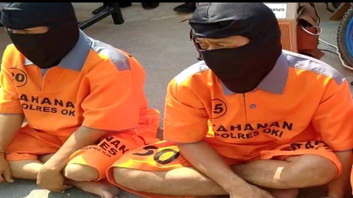 Dua Perampok di Pampangan OKI Ditangkap Polisi, Saat Beraksi Oleskan Balsem ke Wajah Korban