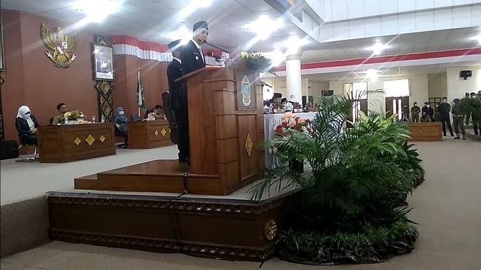 Pidato Perdana Bupati OI, Panca di Depan Sang Ayah Wagub Sumsel, Minta Bantuan Dilipatgandakan