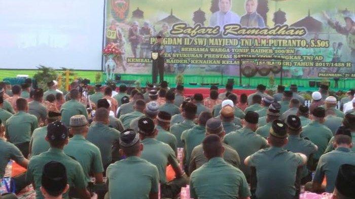 Pangdam II Sriwijaya Ingatkan Anggota Raider Jangan Sampai TErlibat Narkoba