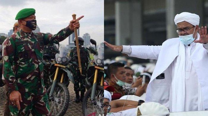Pangdam Perintahkan Copot Baliho Rizieq Lewat Patroli Darat Laut Udara, FPI Minta TNI Urus OPM Papua