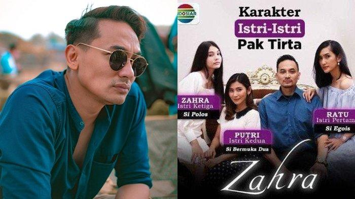 Profil Panji Saputra, Pemeran Pak Tirta di Sinetron Suara Hati Istri: Zahra, Aslinya Suami Idaman!