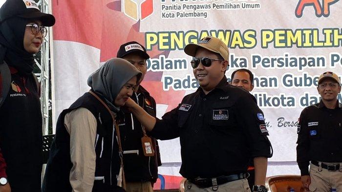 Sukseskan Pilkada, 3 Ribu Pengawas Gelar Apel Akbar Panwaslu se-Kota Palembang