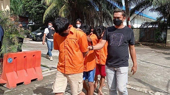 Empat Sekawan di Palembang Ini Maling Kabel di Tempat Kerjanya: Untuk Beli Rokok dan Foya-foya