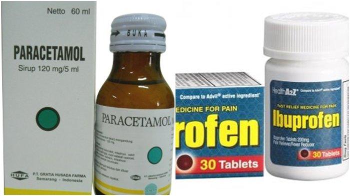 Anak Demam, Pakai Paracetamol Atau Ibuprofen? Berikut Beda, Dosis, Cara Pakai dan Efek Sampingnya