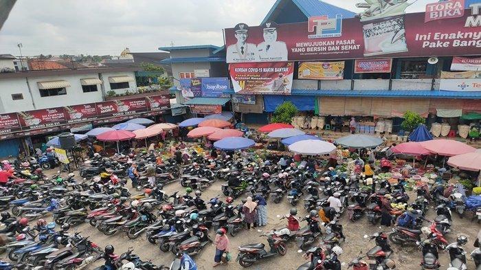 Pasar-pasar Tradisional di Palembang Tutup Lebih Cepat, Ini Penampakan Pasar Palimo H-2 Idul Fitri