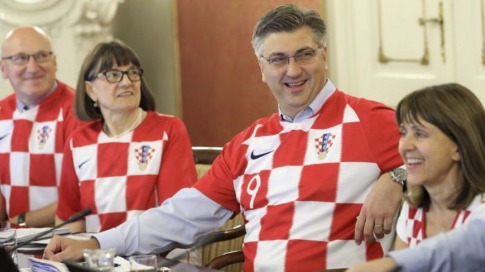 Timnya Masuk Final, Pemerintah Kroasia Rapat Pakai Jersey