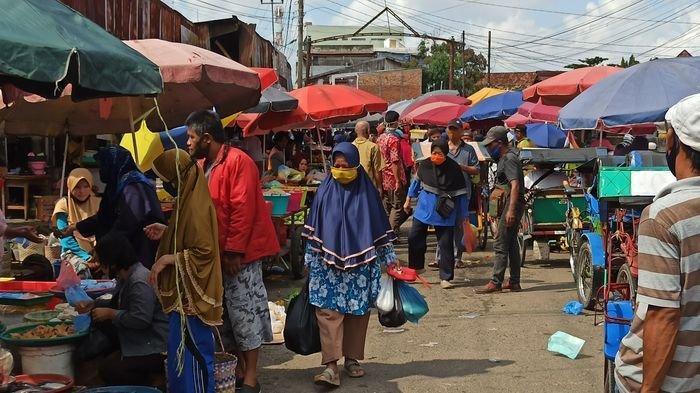 Semrautnya Pasar 26 Ilir Palembang