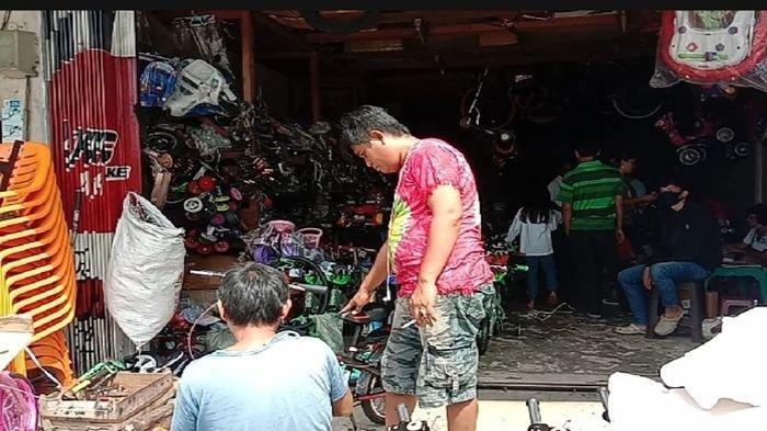 Lagi Demam Sepeda, Pedagang di KM 5 Palembang Mengaku Stok Sepeda Sampai Kosong Diburu Pembeli