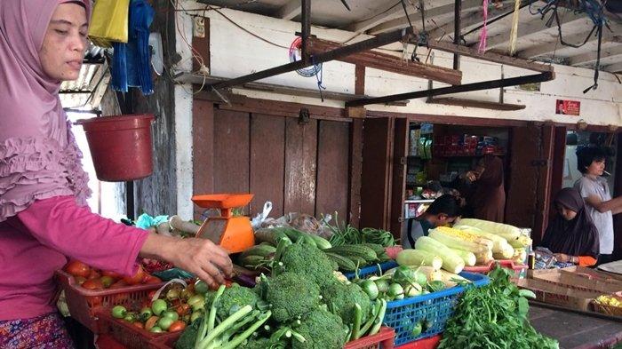Pasca Lebaran, Harga Daging di Pasar Palembang Stabil, Sayuran Melonjak Drastis