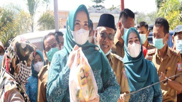 Pemkab Banyuasin Gelar Pangan Murah, Hasil Gotong-Royong dari OPD