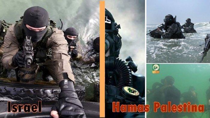 Pasukan Elite Palestina Balas dan Bombardir Pangkalan Udara Israel, Berikut 3 Pasukan Khusus Hamas