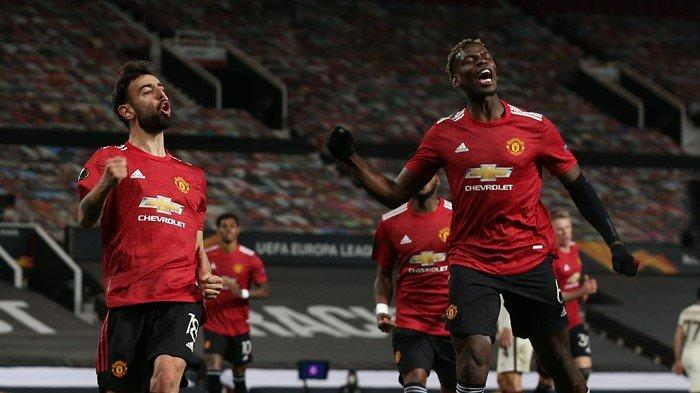 Penyesalan Paul Pogba Usai Manchester United Libas AS Roma Dengan 6 Gol: Saya tidak Beruntung