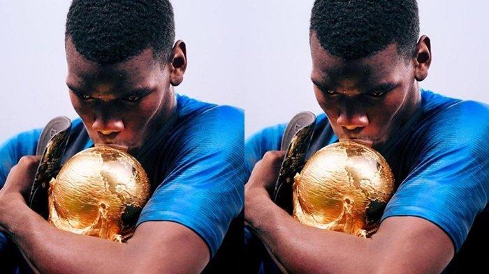 Sempat Ditentang Pengkritik, Paul Pogba Lakukan Selebrasi Unik saat Memenangkan Piala Dunia 2018