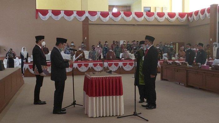 Yupi  Resmi Gantikan Aries HB sebagai Anggota DPRD Muara Enim dari Fraksi PDIP