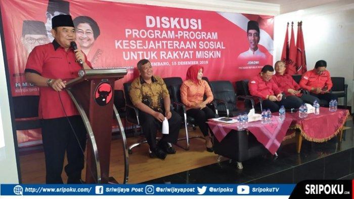 PDIP Sumsel Instruksikan Kadernya Dukung Program Kessos untuk Rakyat Miskin