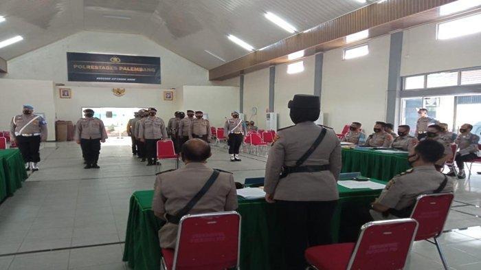 Seorang Anggota Polsek Gandus Berpangkat Bripka Dipecat tidak Hormat oleh Kapolrestabes Palembang