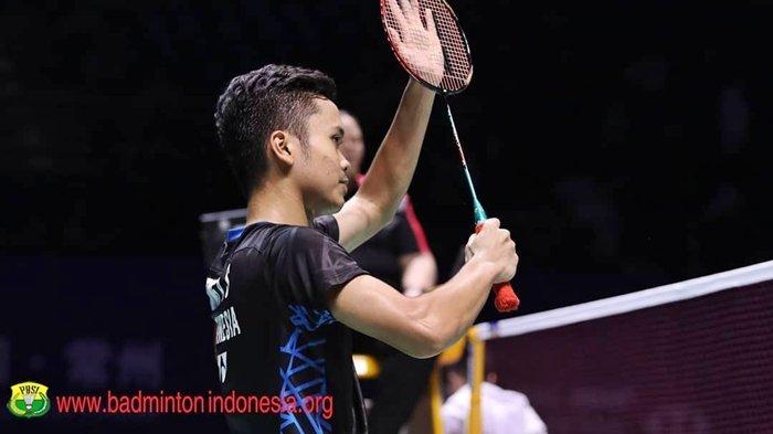 Final Indonesia Masters 2020 - Anthony Sinisuka Ginting Hadapi Antonsen, Duel Epik Dua Pemain Juara