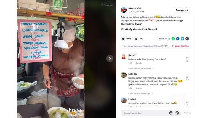 Jadi Viral, Orang Jepang ini Jual Bakso Beranak dan Fasih Bahasa Jawa, Untungnya Buat Bangun Masjid