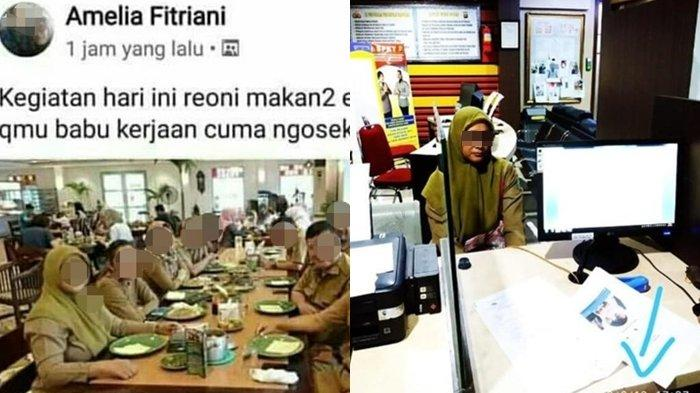 Pegawai Kota Tangerang Viral Hina Babu Ngaku tak Nafsu Makan, Klarifikasinya Kembali Tuai Kritikan