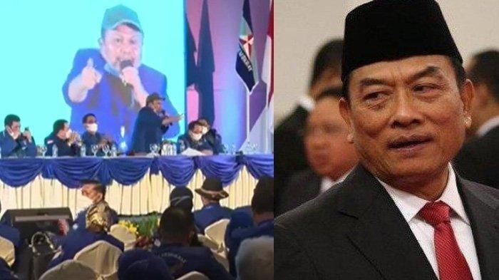 Ketua dan Wakil Ketua Partai Demokrat Sumsel Bungkam Usai Pelaksanaan KLB Demokrat di Deli Serdang