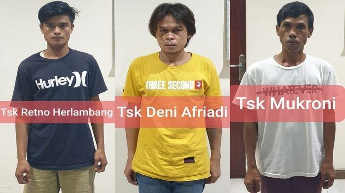 BREAKING NEWS: 3 Pembunuh Muslim, Warga Kelurahan 1 Ilir Palembang Ditangkap Jatanras Polda Sumsel